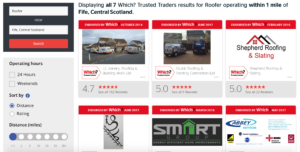 Which Trusted Trader - Roofers Fife