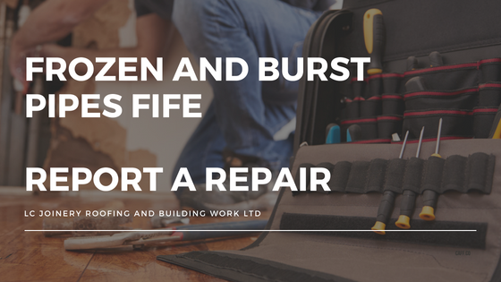 Frozen and Burst Pipes Fife – Report A Repair – Emergency Call Out