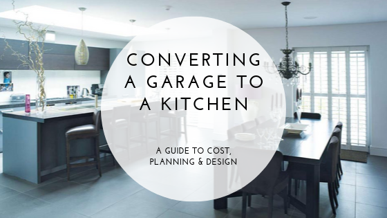 Converting A Garage To A Kitchen